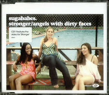 "Sugababes Stronger/Angels With Dirty Faces UK CD single (CD5 / 5"") CID813"