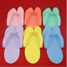 12 pcs Disposable Foam Flip Flop Slippers