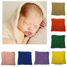 Newborn Baby Infant Crochet Knit SoftWrap Swaddle Cocoon Photography Photo Prop