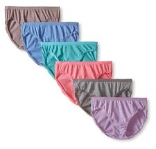 Fruit of the Loom Women's Cotton Beyond Soft Bikini Brief Panties (Pack of 6)