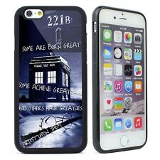 Dr Who Tardis Harry Potter Quotes Case Cover For iPhone  4s 5 5s SE 5C 6 6S Plus