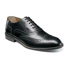 Florsheim Imperial Mens Shoes Pascal Wingtip Oxford Black Leather 12129-001