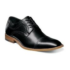 Stacy Adams Mens shoes Dickinson Cap Toe Oxford classic Black Leather 25066-001