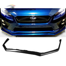 US Stock PU V Limited Front Lip bumper Spoiler For Subaru Impreza WRX STI