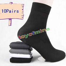 Wholesale Man's 10 Pairs Short Bamboo Fiber Socks Stockings Middle Socks