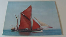 Themes Barge Cambria under Sail POSTCARD Ship/ Boat Greenhithe Maritime Trust