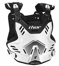 Thor 2016 Sentinel XP Roost Deflector - White/Black