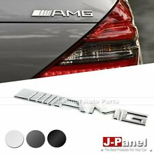 AMG REAR TRUNK BOOT LETTER EMBLEM BADGE STICKER for ALL MERCEDES BENZ 3 COLORS