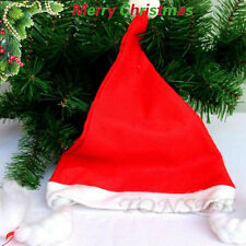 2PC New Christmas Party Holiday Xmas Cap For Santa Claus Gifts Nonwoven Cap Lot