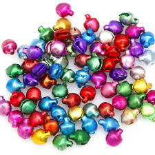 100/200 pcs Mixed-color Charms Jingle Bells DIY Decoration Jewelry Crafts