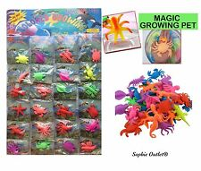 MAGIC GROWING SEA ANIMALS Creatures Water kids Toys Swell Bulk Party Favors Gift