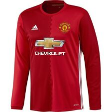 ADIDAS MANCHESTER UNITED LONG SLEEVE HOME JERSEY 2016/17