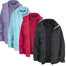 Trespass NANA Womens Ladies 3 in 1 Fleece Winter 3in1 Coat Waterproof Jacket