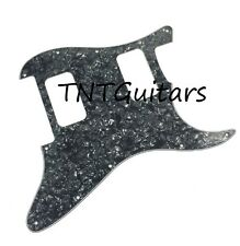 Strat HH FLOYD ROSE Pickguard, SoCal Charvel Style, Custom SO CAL FR BLACK PEARL
