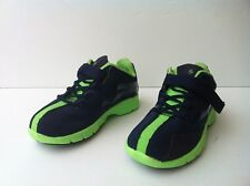 New Polo Ralph Lauren Toddler Boys Featherweight Casual Shoes - Navy/Green-L@@K