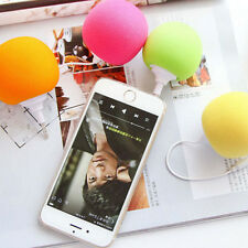Music iPod Portable iphone Cell Phone PC MP3 Mini 5.5mm Sponge Ball Speaker