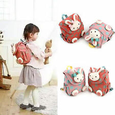 Cute 3D Animal Rabbit Anti-lost Baby Backpack Toddler Kids Durable School Bag