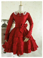 Japanese Vintage Punk Gothic Lolita Dress Sweet Cosplay Dress Costume