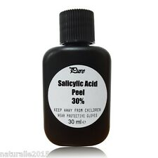 SALICYLIC Acid Chemical Facial Skin Peel 2-30% 30ml Buy2 Get3 Acne Blemishes