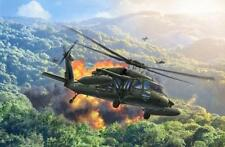 Revell 04984 US Army UH-60A Blackhawk Helicopter 1:100 Scale Kit