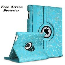 Synthetic Leather 360 Degree Rotating Smart Stand Case Cover Apple iPad  4 3 2