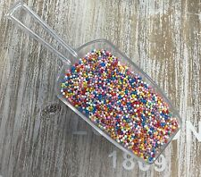 Edible Multicoloured Sugar Balls 100s & 1000s Cup Cake Decorations Sprinkles