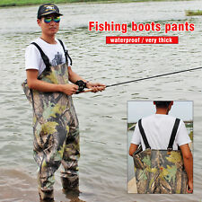Waterproof Boot-Foot Chest Waders Camoflauge Fly Fishing Hunting Boot Waders