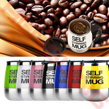 Cute450ml Stainless Self Stirring Mug Auto Mixing Drink Coffee Tea Cup Home Gift