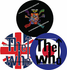 THE WHO Union Jack Target Happy Jack 7 & 12 inch TURNTABLE platter MAT *see all*