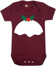Baby Grow - Christmas Edition 'Christmas Pudding ' - Christmas Baby Vest