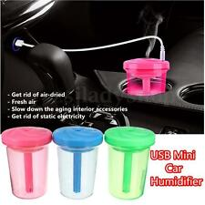 Car Home USB Mini Air Humidifier Purifier Fresh Mist Aromatherapy Aroma Diffuser