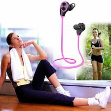 Wireless Bluetooth Noise Cancelling HD Stereo Headphones Headset Earphone & Mic