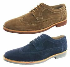 Silver Street Lombard Suede Leather Lace Up Mens Brogue Casual Formal Shoes