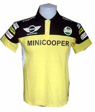NEW MINI COOPER RAC MOTORCYCLE SPORT RACING TEAM YELLOW MENS POLO T-Shirt M,L,XL