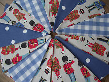 Handmade Bunting Laura Ashley Cath Kidston Guards & Friends Soldiers Police