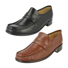 Mens Thomas Blunt Leather Moccasin Slip On Shoe - Clapham