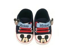 Disney Baby Mickey Mouse Pre Walker Shoes with Velcro Strap