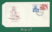 (FC876) Czechoslovakia First Day Cover - FDC 1953 International Women's Day