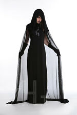 Halloween Sexy Wicked Witch Fancy Dress Womens Devil Vampire Bride Adult Costume