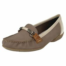 Ladies Rieker Moccasin Style Shoes, 42150