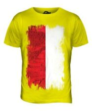 POLAND GRUNGE FLAG MENS T-SHIRT TEE TOP POLSKA FOOTBALL POLISH GIFT SHIRT