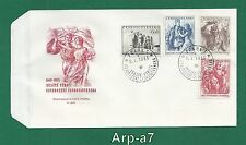 (FC911) Czechoslovakia FDC - First Day Cover 1955 The 10 anniversary liberation