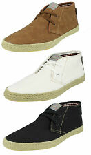 MENS FISH N CHIPS BY BASE LONDON LACE UP SHOES HI ANKLE CASUAL BOOTS LILO