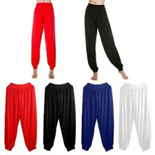 Women Bloomers Workout Sports Fitness Yoga Pilates Dancing TaiChi Length Pants