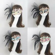 Venetian Feather Masquerade Eye Mask Party Fancy Dress Christmas Halloween Decor
