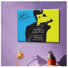 POSTER or STICKER +GIFT Decals Vinyl Justin Bieber Never Say Never Alonline