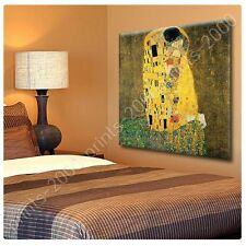 POSTER or STICKER +GIFT Decals Vinyl The Kiss Gustav Klimt Pictures Paintings
