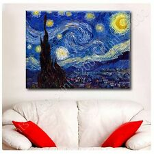 POSTER or STICKER +GIFT Decals Vinyl Starry Night Vincent Van Gogh Painting