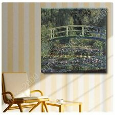 POSTER or STICKER +GIFT Decals Vinyl Water Lily Claude Monet Poster Prints
