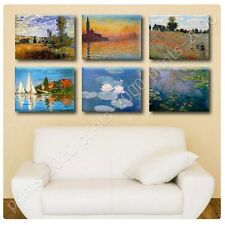 POSTER or STICKER +GIFT Decals Vinyl Giorgio Landscape Water Lilies Claude